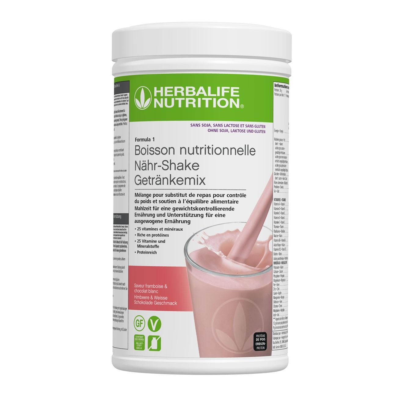 Herbalife Formula 1 Shake Getränkemix laktosefrei 500 g