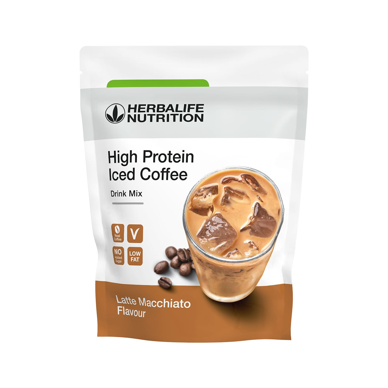 Herbalife High Protein Iced Coffee Latte Macchiato 322 g