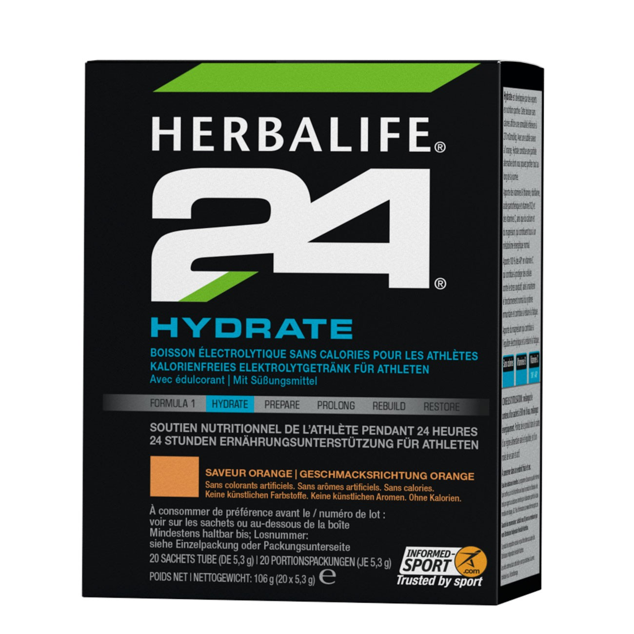 Herbalife H24 Hydrate 20 Packungen