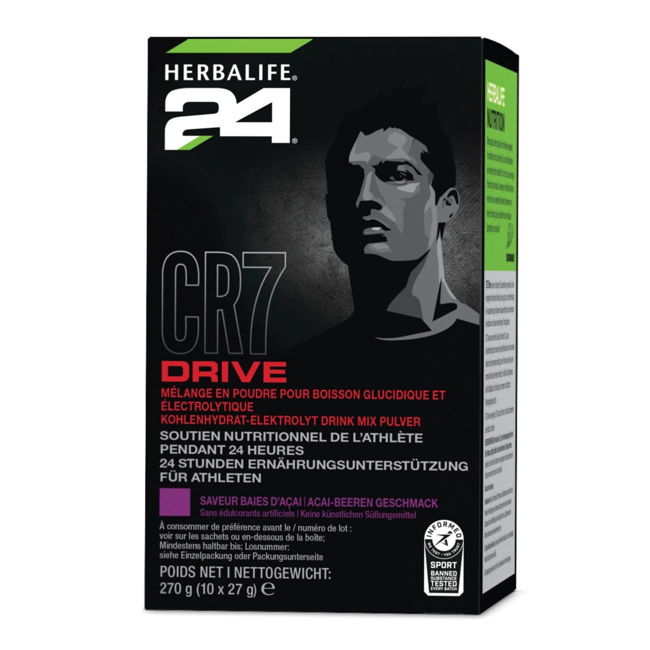 Herbalife CR7 Drive Portionspackungen (10 Portionen)