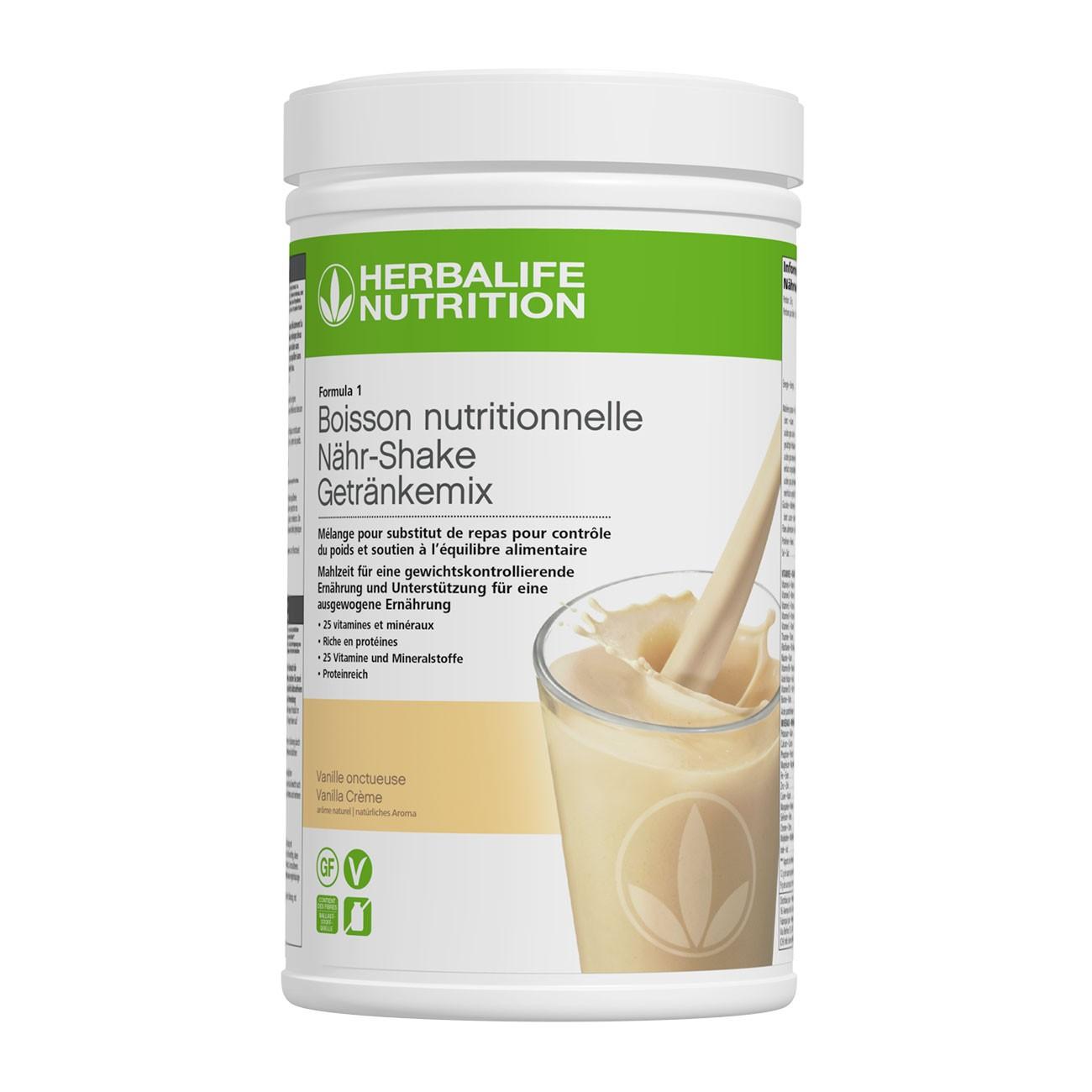 Herbalife Formula 1 Shake Vanille Crème 780g
