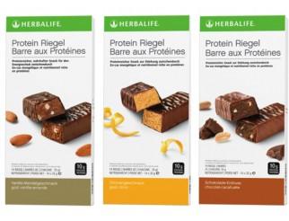 Herbalife Proteinriegel 12 Riegel à 35 g in 3 Geschmacksrichtungen